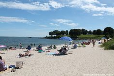 Hole in the Wall beach, Niantic, CT. Looks like a good day trip - free after Labor Day