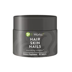 Hair Skin Nails… These supplements from ItWorks!, for hair skin and nails.  via  The OP Life blog
