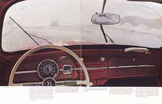 """design-is-fine: """"Volkswagen Beetle, from the trade catalogue What makes a Volkswagen a Volkswagen? 1963. Via Hagley Museum """""""