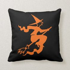 Shop Halloween Witch Pillow created by photographybydebbie. Outdoor Halloween, Cute Halloween, Halloween Gifts, Vintage Halloween, Halloween Decorations, Cute Pillows, Throw Pillows, Large Pillow Cases, Pillow Slip Covers