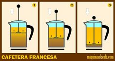 Cafetera Francesa Barista, Coffee Time, Marketing, Design, Drink Recipes, Deserts, Meals, French Press, Coffee Nook