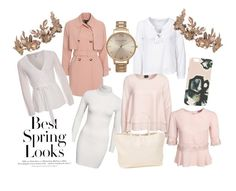 """""""Spring"""" by svensson-evelina on Polyvore featuring Odd Molly, NLY Trend, H&M, By Malene Birger, Olivia Burton, VILA, Elise Ryan, women's clothing, women and female"""