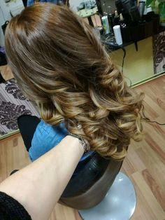 Highlights / large curls