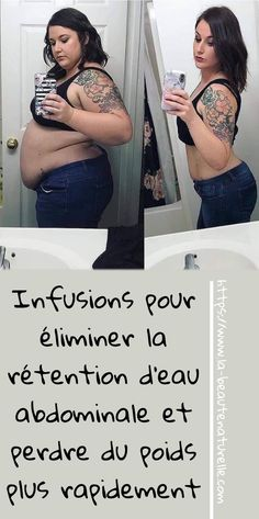 Infusions to eliminate abdominal water retention and lose weight faster - Diet & Diet Plan Health And Fitness Tips, Fitness Diet, Health Tips, Protein Diet Plan, Healthy Diet Plans, Loose Weight, How To Lose Weight Fast, Best Detox, Water Retention