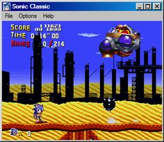 Sonic the Hedgehog Classic - Sonic and Sega Retro Message Board via http://forums.sonicretro.org/index.php?showtopic=19103