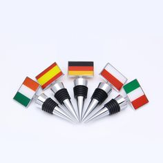 Personalized Epoxy Bottle Stoppers -Flags /new flags themes Wine Stopper gifts promotion or wholesales