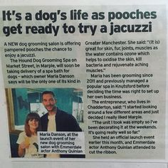 Yay we're in the paper, very exciting! #entrepreneur #businessowner #doggrooming #dogs #dogsofinsta #celebrity #marple #manchester #stockport http://tipsrazzi.com/ipost/1512549192260781267/?code=BT9p3n-AgTT