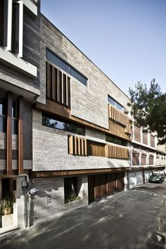 logical process in architectural design office / house in isfahan city iran
