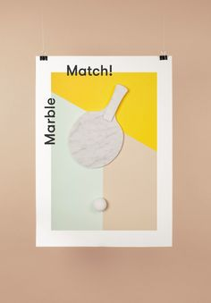 Typography / Poster / Ping Pong
