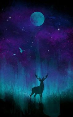 New bohemian art painting artworks boho 18 ideas Painting & Drawing, Moon Painting, Deer Art, Bohemian Art, Bohemian Drawing, Spray Paint Art, Nature Paintings, Painting Inspiration, Amazing Art