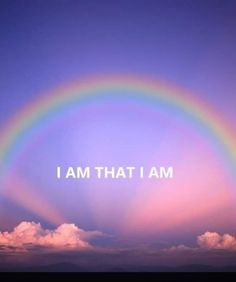 The I AM THAT I AM is the real Rainbow Connection! #somewhereovertherainbow #IAMthatIAM #IAM #rainbowconnection #rainbow Rainbow Connection, Chakras, Wisdom Quotes, Magick, Lighthouse, Home And Family, Spirituality, Universe, God