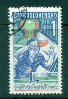 Czechoslovakia 1976 Table Tennis