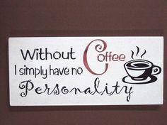 Coffee Kitchen Wooden Sign by MulberryCreek on Etsy.