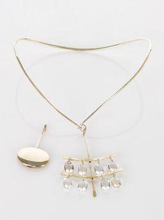 Vivianna Torun Bulow-Hube sterling silver neckring