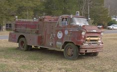 1957 COE Chevrolet Fire Truck by jimhughesphotography, via Flickr
