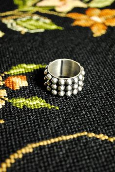 Mexican Vintage Sterling Silver Ring.
