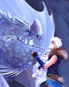 Viking AU Jack Frost