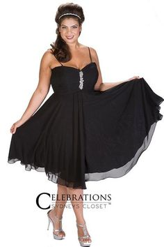 94c5888252bca Flirty plus size party dress perfect for club