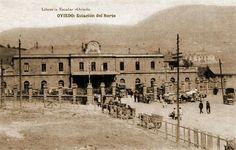Estación renfe de Oviedo.
