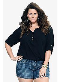 Plus Size Fashion Tops: Trendy Tunics, Shirts, Sweaters, & More | Torrid