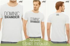 Tshirt Mockup by ExclusiveShirt on @Graphicsauthor
