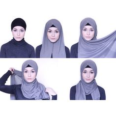 Super how to wear hijab turban watches Ideas Tutorial Hijab Pashmina, Square Hijab Tutorial, Hijab Style Tutorial, Hijabs, Hijab Mode Inspiration, Beau Hijab, Hijab Simple, How To Wear Hijab, Modele Hijab