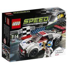 Lego 75873 Speed Champions AUDI LMS Ultra - Multi-coloured for sale online Audi R8, Fisher Price, Oz Ultraleggera, Lego Wheels, Promo Amazon, Lego Clones, Lego Speed Champions, Muscle, Brazil