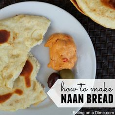 Learn how to make naan bread with this easy recipe. It is easy to make and tastes amazing!