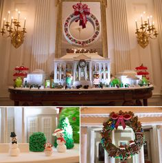 Volunteers started working the day after Thanksgiving to give the White House its annual holiday charm.