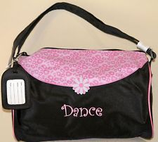 Sassi Bags CHT-02 Dance Cheetah Small Roll Duffel Embroidered Microfiber