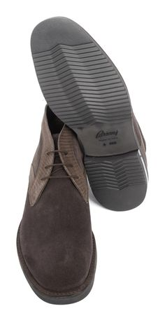 Casual yet chic, in these BRIONI Brown Suede Leather Lizard Chukka Boots!  |  Have at it! http://www.frieschskys.com/footwear  |  #instastyle #mensfashion #mensstyle #menswear #dapper #stylish #MadeInItaly #Italy #couture #highfashion