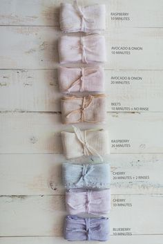 DIY Vegetable Dyed Ribbons - Threads & Blooms