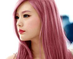 nana after school pink hair