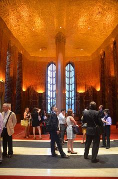 Inside Art Deco Beauty One Wall Street Before Its Makeover - Conversions of the Future? - Curbed NY