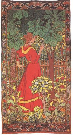 Art Nouveau And Art Deco Paintings From Eastern Europe, Fröndenberg. For fans of Art Nouveau and Art Deco. Art Nouveau, Avant Garde Artists, Name Art, Post Impressionism, Expositions, Japanese Prints, Art Google, Art History, Lady In Red