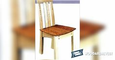 Breakfast Chair Plans - Furniture Plans and Projects | WoodArchivist.com