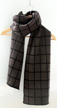Cosy winter scarf