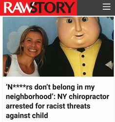 @Regrann from @crackedrosecoloredglasses_us -  A Staten Island chiropractor was arrested this week for allegedly harassing law enforcement workers for over a year and throwing lollipops at them as well as threatening an African-American child.  Danielle Serini Guardavaccaro reportedly mailed letters to officers at the 120th Precinct the New York Daily News revealed. One letter went to African-American NYPD Officer Ebony Glover and another to white crossing guard Jennifer Becker whose child…