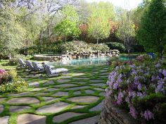 Private Swimming Pools - eclectic - pool - dallas - Harold Leidner Landscape Architects