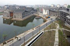 Nueva academia de arte en Hangzhou by Wang Shu