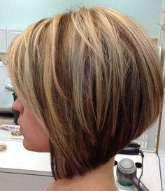 Looking for stacked bob hairstyles? Find stacked bob hairstyles pictures for graduated, fine hair, long hair, and layered hairstyles. Short Hair Styles For Round Faces, Short Thin Hair, Thick Hair, Short Bobs, Bobs For Thin Hair, Short Layers, Short Styles, Bob Styles, Stacked Bob Hairstyles