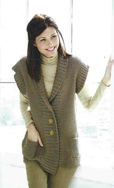 Ravelry: Weekend Vest pattern by Susan Shildmyer