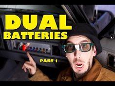 BleepinJeep Dual Batteries DIY: Part 1 of 2 - YouTube