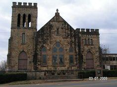 First United Methodist Church, Ozark, AR