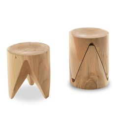 Wood Chair Design, Wood Stool, Wood Design, Wood Chairs, Stool Chair, Lounge Chairs, Wooden Stool Designs, Wooden Benches, Chair Yoga