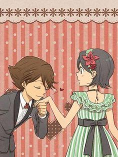 Tan lindos *-*. Amo esta pareja