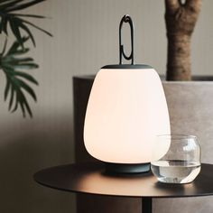 andTradition Lucca Portable Table Lamp by Space Copenhagen Space Copenhagen, Copenhagen Style, Danish Design Store, Portable Table, Nordic Design, Lucca, Table Lamp, Traditional, Stuff To Buy