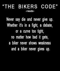biker code