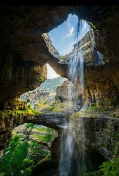 Baatara Gorge Waterfall