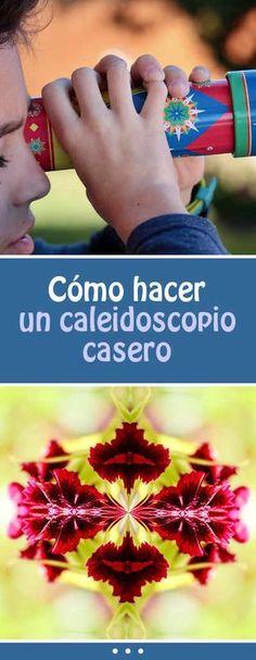 Cómo hacer un caleidoscopio casero  #DIY #jugetes #paraniños #caleidoscopio #manualidad #vacaciones #familia